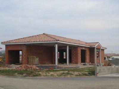 charpente et toiture 4 pente terrasse et entr e couverte. Black Bedroom Furniture Sets. Home Design Ideas