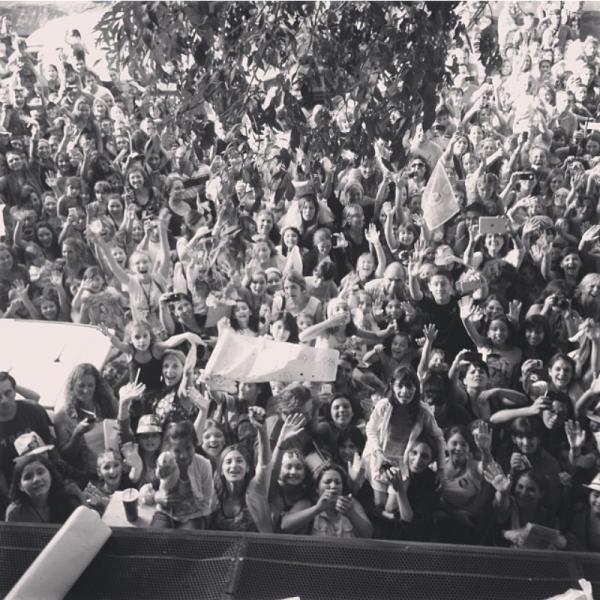 Tini a posté sa sur Instagram <3