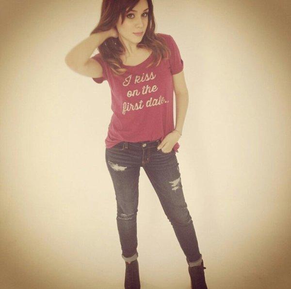 Valeria a mis sa sur instagram