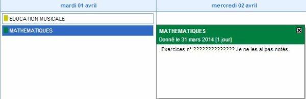 Ma prof de Math
