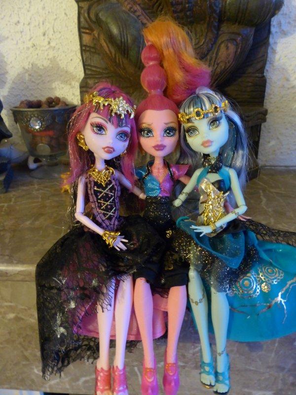 Trois nouvelles Monster dans la famille :3