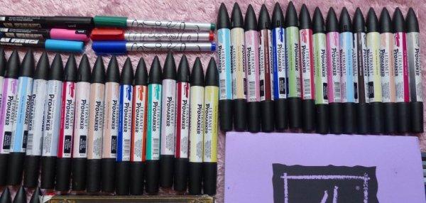 Mon matériel de dessin =^-^=