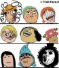 One piece en mode troll face XD