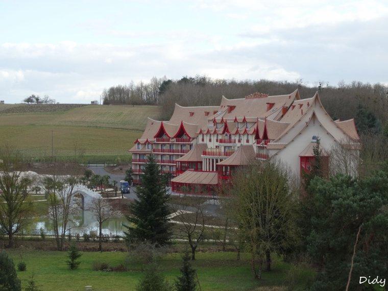 """nouvel hôtel """"les pagodes de Beauval"""""""