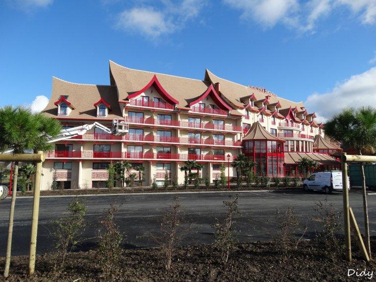 Nouvel h tel les pagodes de beauval entrer dans l for Hotels de beauval
