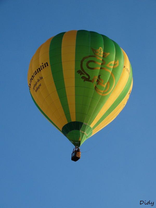 Mon vol en montgolfère - 28 mai 2015