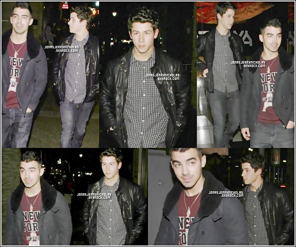 . 01/11/11 -Nick est aller chercher son frère à l'aéroport , et ils sont aller manger dans un restaurant.
