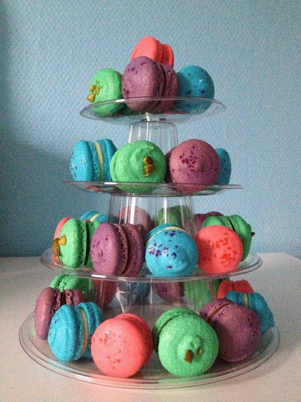 Pieces montées de macarons