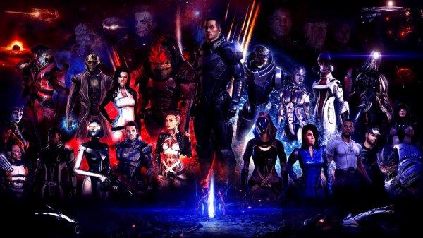 Bienvenu dans le monde Mass Effect