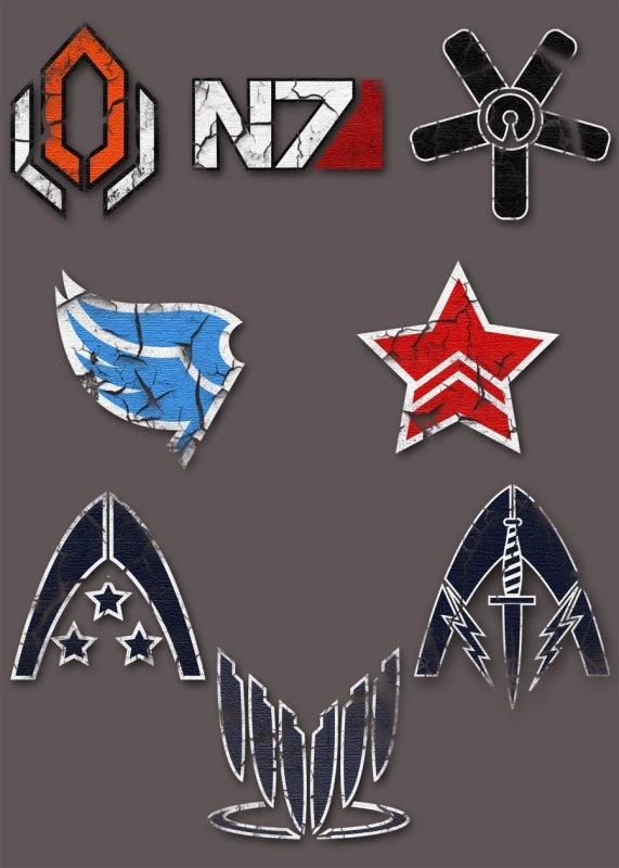 mass effect les Logo (simbole)