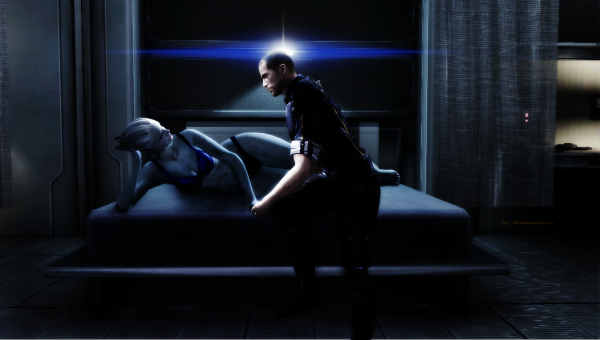 MASS EFFECT AURA SON FILM