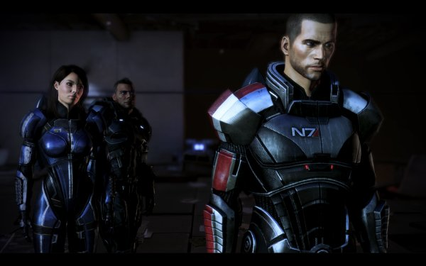 LA TRILOGIE  Shepard sur PS4 X BOX one