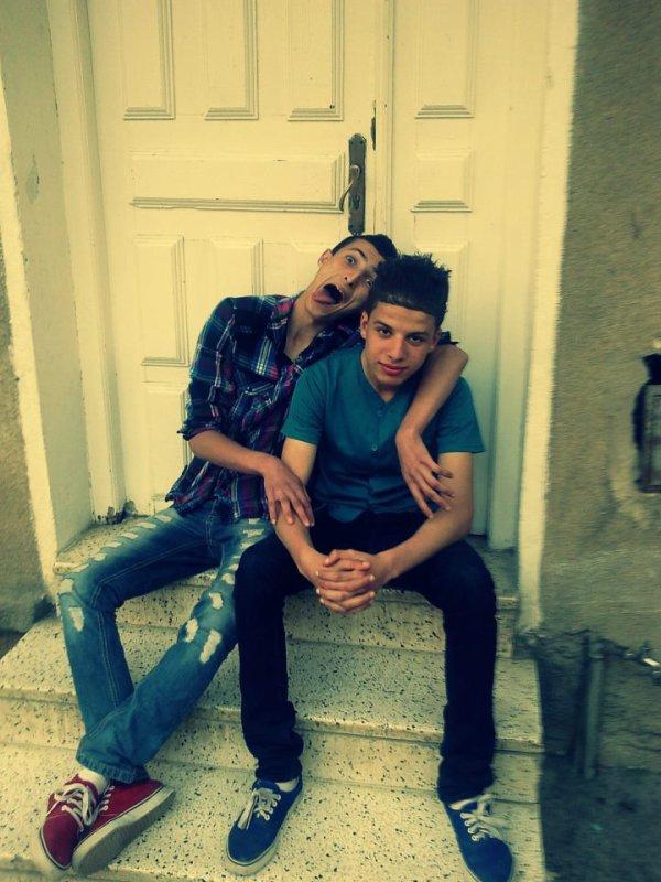 Avec Mon Fréree... imaaaD'...