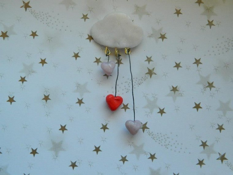 Pluie d'amour - pendentif