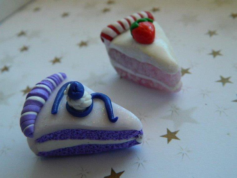 Part de gâteaux diverses - pendentifs