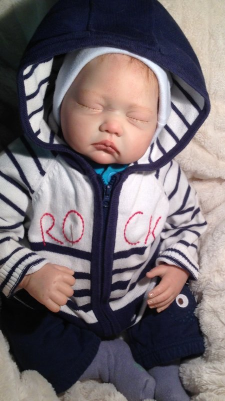 Suite bébé Reborn Marius .