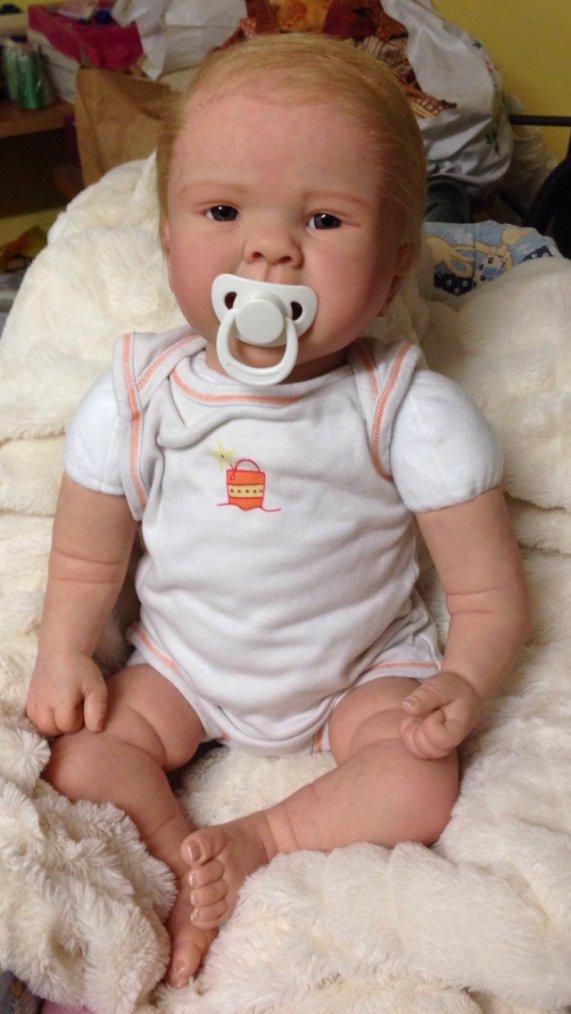 Bébé Reborn Ophélie à été adoptée