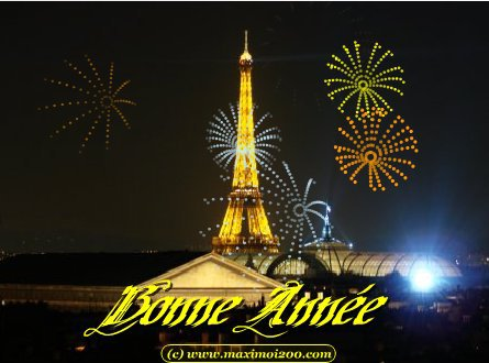 bonne année à toutes et merci de vos gentils mots