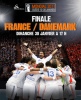 Finale France-Danemark bravo