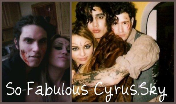 1. Miss Cyrus a poster des photos d'elle entrain de feter Halloween. 2. le clip bing bang a enfin ete reveller!!!!