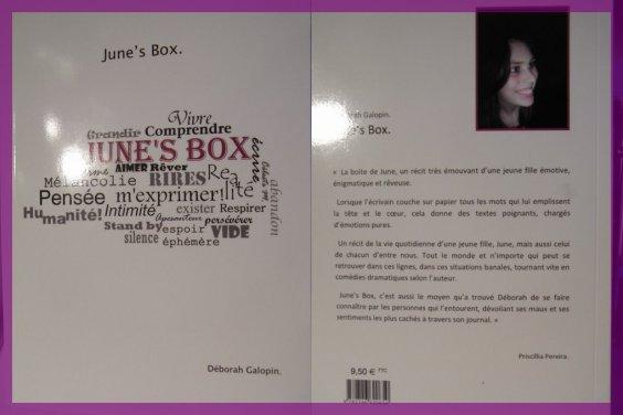 June's box, Un livre d'une fan! jettez y un coup d'oeil! ça vaut le détour!