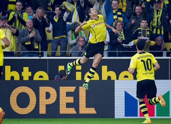 28/09/13 | Bundesliga (7e journée) : Borussia Dortmund 5-0 SC Fribourg