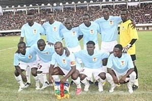 EQUIPE CENTRAFRICAINE POUR LA CAN 2012