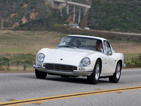 Lamborghini Miura de 1967 :     Moteur : V12 de 350 ch   Vitesse maxi : 277 km/h