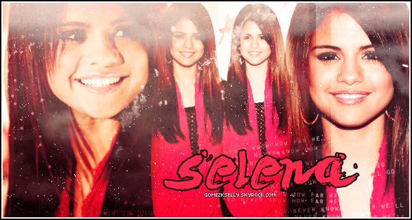 Bienvenue sur GomezkSelly, ta meilleure source d'actu' sur la sublime Selena Gomez !