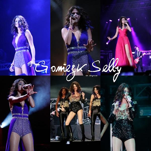 * 24/01/12 : Sel' donnait le deuxième concert de sa tournée sud américain à Panama.