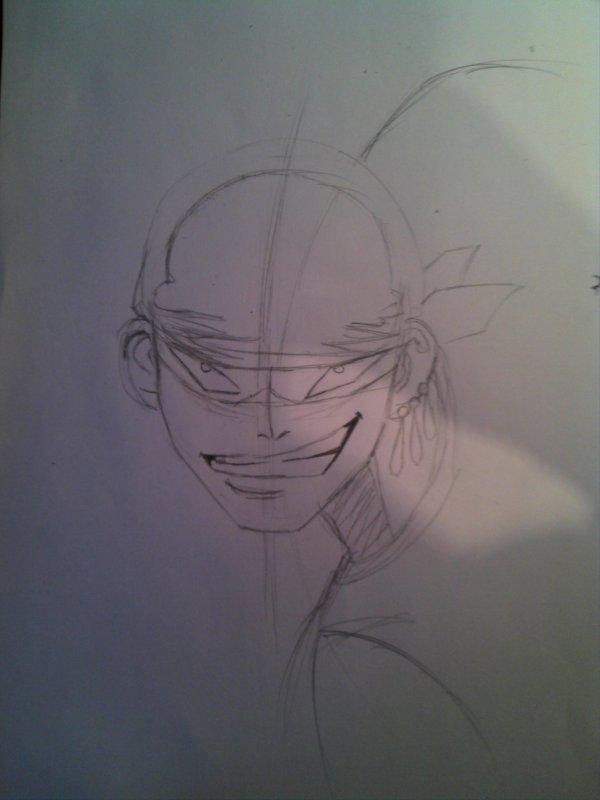 petite tuto pour dessiner roronoa zorro =)