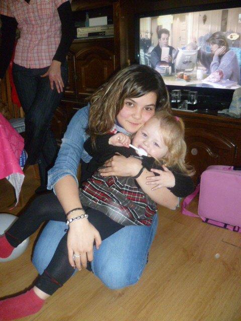 moi et ma nièce :)