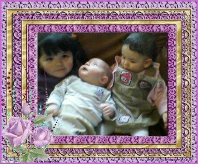 met 2 fille et leur tit couz yovan