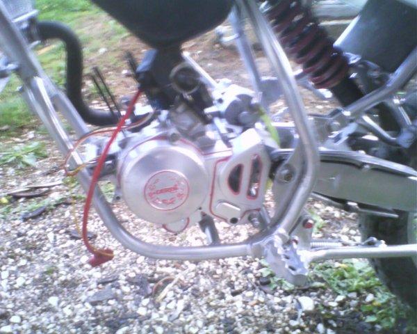 le moteur de ma 50