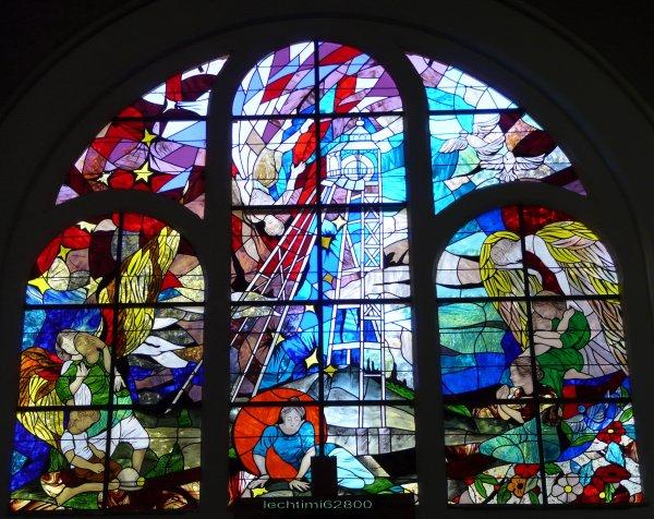 21 - Le choeur de l'église St Amé à Liévin.
