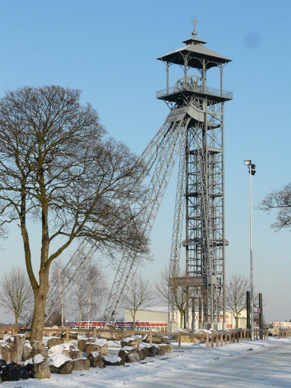 23 - Chevalement du puits 3 bis, vestiges des mines de Lens à Liévin - 62 -
