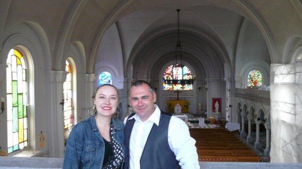 122 -  La grande Traversée du Ch'ti pays N.P.D.C de Damien Koska avec la rencontre de Judith Debruyn en l'église St Amé de Lievin - 62 -