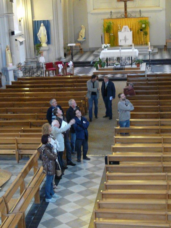133 - journées du patrimoine en l'église St Amé de lievin -