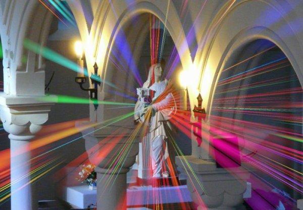 567 - Sainte Barbe illuminée de mil feux