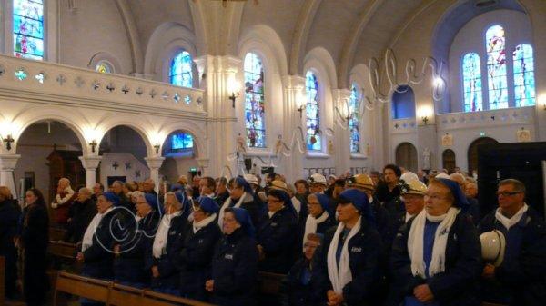 585 - Sainte Barbe 4 Déc  2013 avec les Gueules Noires de l'association de lievin -