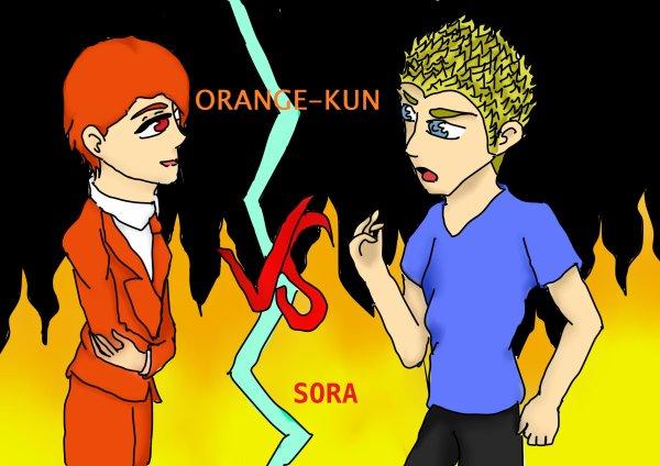 fanart pour Sora.