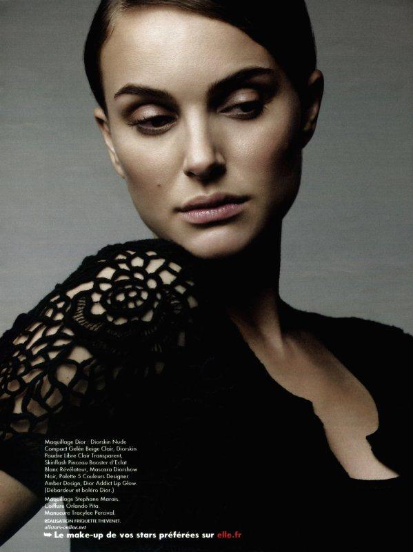 Nathalie Portman pour ELLE