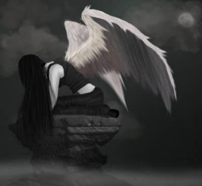 Dans les nuage ...loin... cupidon me fait tomber , cupidette sera t'elle me relever??