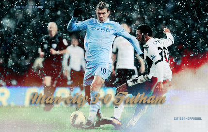 24 eme journée : Manchester City - Fulham !