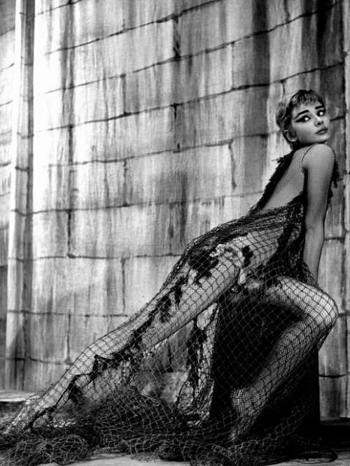 Clin d'oeil de Audrey Hepburn