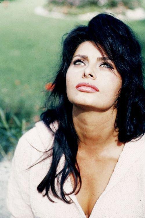 Clin d'oeil de Sophia Loren