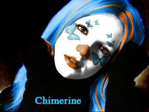 Des mots Fous, des Chimères aux airs printanière par Chimérine..........