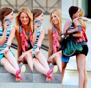 Une vraie amie, c'est pas celle qui te couvre quand tu fais des conneries, mais celle qui t'empêche de les faire. ♥