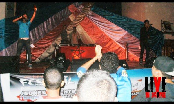Festival National Des jeunes talents: Agadir 22/23 Octobre 2011