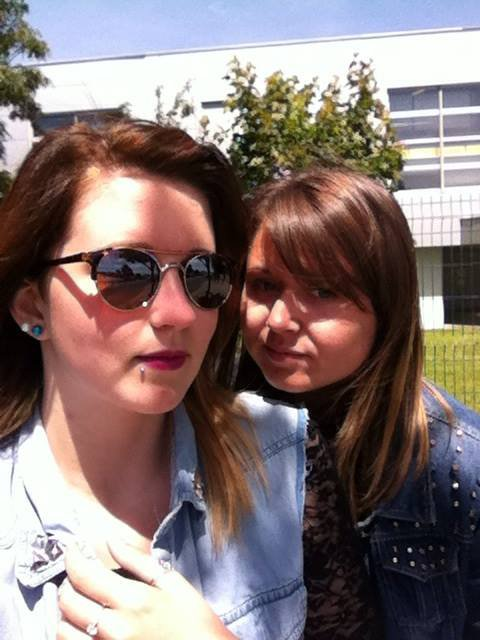 Amandine, Mélo ♥ Lycée 2014 ♥